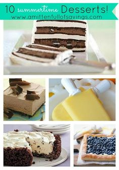 10 Summertime Desser