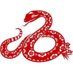 Year of the Snake Royalty Free Stock Vector Art Illustration