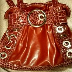 Selling this Attention red/burgundy purse in my Poshmark closet! My username is: kimbean0830. #shopmycloset #poshmark #fashion #shopping #style #forsale #attention #Handbags
