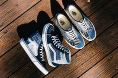 6895c7199be5 Vans Brings Japanese Boro to the Sk8-Hi   Authentic