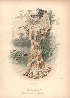 [De Gracieuse] Wandeltoilet (July 1900)