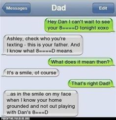 parent texting FAILS