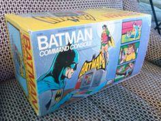 Mego Corp BatMan Command Console Excellant cond All original MIB Rare-No Reserve