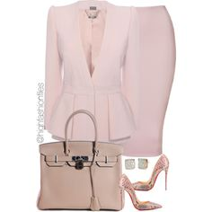 A fashion look from December 2015 by highfashionfiles featuring Alexander McQueen, Christian Louboutin, Hermès y Kate Spade