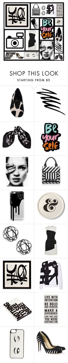 """""""Icon, & on & on...."""" by littlesaraha ❤ liked on Polyvore featuring Sergio Rossi, Noir Cosmetics, Hermès, Pierre Hardy, Casetify, Kate Spade, Dot & Bo, Thierry Mugler, Eichholtz and DKNY"""