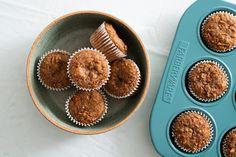Bran Flax Muffins Recipe from Bob's Red Mill! Muffin Recipes, Brunch Recipes, New Recipes, Baking Recipes, Breakfast Recipes, Snack Recipes, Favorite Recipes, Healthy Breakfast Muffins, Healthy Breakfast Options