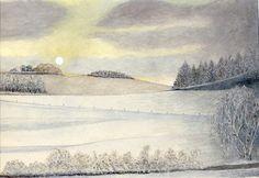Winterlandschaft, U. Kretschmer