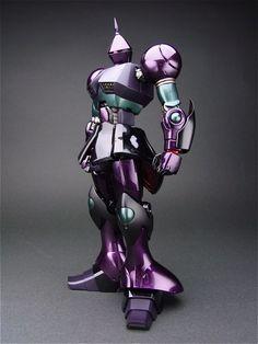"""makubenoaijin: MG 1/100 Gyan by BONDS you say """"purple mobile..."""