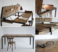 How to Make a Desk from Recycled Materials