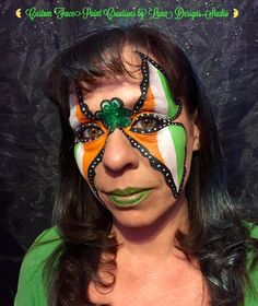 "Custom Face-Paint Creations by Luna Designs Studio ""Let Luna Create A Beautiful Work of Art For You or On You"" #LoveMyLuna"