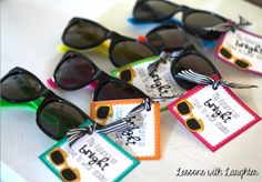 Lessons with Laughter: Sunglasses: End of the Year Student Gift Freebie!