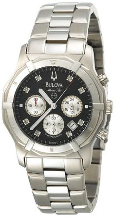 Bulova Men's 96D16 Marine Star Diamond Chronograph « Clothing Adds for your desire