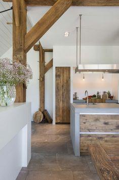 Kitchen Interior, New Kitchen, Sweet Home, Big Houses, Rustic Interiors, Home Renovation, Home Kitchens, Interior Architecture, Kitchen Remodel