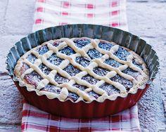 Mürbeteigkuchen mit Brombeer Konfitüre Rezept