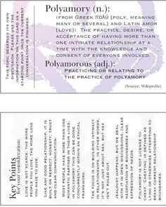 Poly explanation cards, key points explained - by Poly Momma