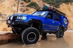 Queenslander Darren Vassie took an Toyota 80 Series Land Cruiser and built his vision of the ultimate family tourer Truck Camping, Jeep Truck, 4x4 Trucks, Land Cruiser 80, Toyota Land Cruiser, Landcruiser Ute, Lexus Lx450, Rock Sliders, Toyota Fj40