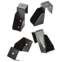 """Rockler Sawhorse Supports, Pack of 4 by Rockler. $13.99. The one drawback to the ubiquitous and incredibly useful """"sawhorse workbench"""" is that it almost always suffers from saddleback. But these nifty brackets from Rockler are an instant cure - just slip them onto the horses and add two 2x4's in any length you desire to create a strong, stable base. Or you can add a sheet of plywood as a top for a sturdy, portable assembly table or for job-site work tables. A simp..."""