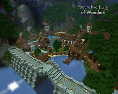 This would be amazing inside of a humongous hole on the ground in Minecraft. Minecraft Village