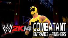 WWE 2K14 - CombatANT Entrance + Finishers
