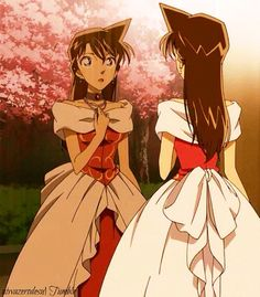 Ran Mouri ... Lupin 3 vs. detective conan Movie !! She was so beautiful with this amazing dress ❤️  ~