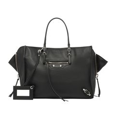 Balenciaga Papier B4 Zip Around - Black - Women's Papier ZA Handbag