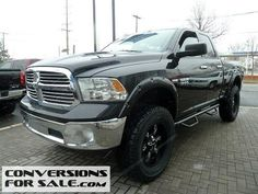 Used 2014 RAM 1500 SLT Quad Cab Lifted Truck