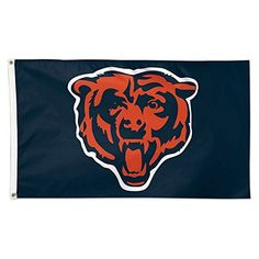 NFL Chicago Bears 01803115 Deluxe Flag 3 x 5 ** Continue to the product at the image link.
