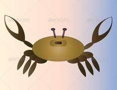 Realistic Graphic DOWNLOAD (.ai, .psd) :: http://vector-graphic.de/pinterest-itmid-1006588101i.html ... Crab ...  animal, aquatic, brown, cancer, crab, crustacean, degraded, edible, illustration, isolated, marine, pincers, tweezers, zodiac  ... Realistic Photo Graphic Print Obejct Business Web Elements Illustration Design Templates ... DOWNLOAD :: http://vector-graphic.de/pinterest-itmid-1006588101i.html