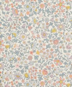 Liberty Fabrics' Godington Park is lustrously detailed and rich in colour – printed in Liberty's Italian fabric mill, on our inimitable Tana Lawn cotton. Liberty Of London Fabric, Liberty Fabric, Liberty Print, Fabric Patterns, Print Patterns, Floral Patterns, Floral Fabric, Floral Prints, Groomsmen