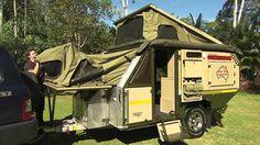 UEV 490 off-road camper trailer Conqueror Australia