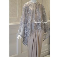 Source by maryrza brokat Kebaya Lace, Kebaya Dress, Batik Kebaya, Batik Dress, Model Kebaya Muslim, Kebaya Modern Hijab, Kebaya Hijab, Model Kebaya Brokat Modern, Hijab Evening Dress