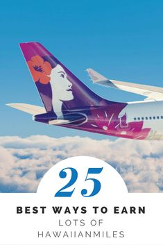 Check out the BEST ways to earn lots of Hawaiian Airlines HawaiianMiles! Hawaii Airlines, Travel Guides, Travel Tips, Best Travel Credit Cards, Road Trip Usa, Free Travel, Hawaii Travel, Disney Vacations, Hawaiian