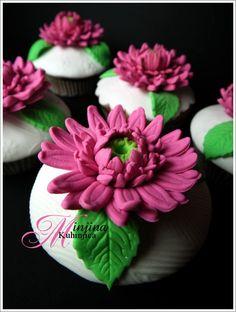 Gerber cupcakes