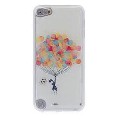 fris design kleurrijke ballon patroon epoxy harde case voor ipod touch 5 – EUR € 4.59