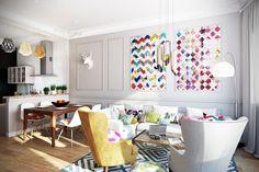 Скандинавский стиль в интерьере - просто, уютно, элегантно