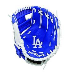"Wilson A0200 10"" Los Angeles Dodgers Baseball Glove"