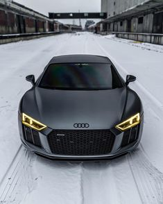 What's your ideal winter daily? | #blacklist #audi #r8""