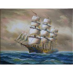 Πίνακας καράβι πειρατικό  Τιμή: €27,00 http://www.lovedeco.gr/p.Pinakas-karavi-peiratiko.873060.html