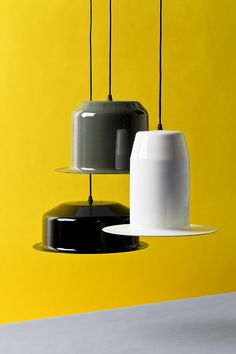 Lingor by Mark Braun Studio  The interior is coated with a luminescent enamel layer (phosphorus-free)