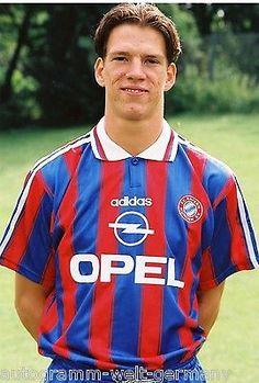 Christian Ziege Bayern München 1995-96 seltenes Foto+2