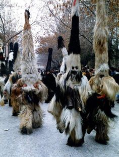 The Abombinal Snowman mystery is now solved - Kukeri Festival in Bulgaria