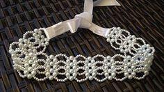 Do it Yourself: Luxury Pearl Headband - Pearl Headband - Bridal Tiara - DIY Bridal Headband - Bride Headband, Head Wrap Headband, Pearl Headband, Diy Headband, Beaded Anklets, Beaded Jewelry, Beaded Necklace, Beaded Bracelets, Beaded Bead