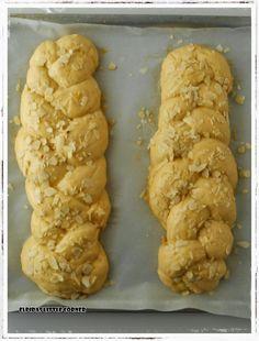 Elpida's Little Corner! Little Corner, Bread Cake, Sausage, Sweets, Meat, Desserts, Food, Breads, Greek