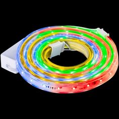 Energy Efficient LED Multi-Color Flexible Ribbon 108 Lights Christmas Decor  #Flexible #FlexibleRibbon #108Lights #Lights #LED #LEDLights #MultiColor #EnergyEfficient #Christmas #ChristmasDecor #Decor