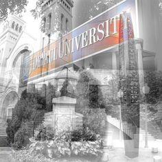 DePaul University Campus - Chicago Canvas