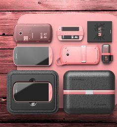 Samsung mobile concept - MIA designed by MNSK - Min Seok Kim www.designmnsk.com