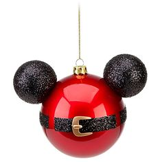 ho ho ho! mickey mouse ornament