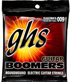 GHS GBXL Boomers Extra Light Electric Guitar Strings  (09-42) #Affiliate