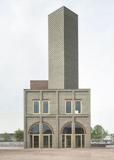 MONADNOCK, Stijn Bollaert · Landmark Nieuw Bergen. Netherlands