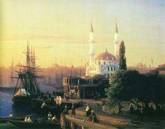 Ivan Konstantinovich Aivazovsky (1817-1900), Constantinople